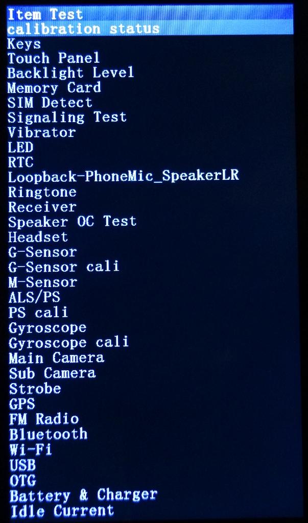 Item Tests